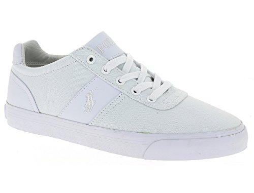 POLO RALPH LAUREN - Baskets basses - Homme - Sneakers Hanford Canvas Blanc pour homme