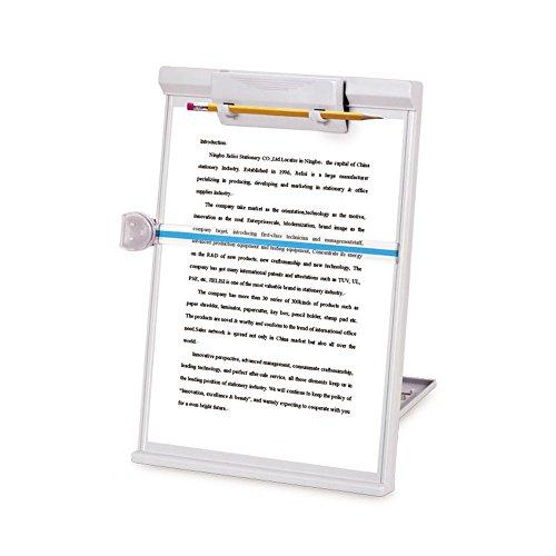 MyLifeUnit - Soporte para copia de documento, ajustable, gris