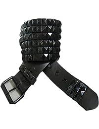 Dragon femmes ceintures Ceinture cloutée en cuir style Punk Rock pour ceintures