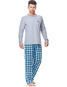 Italian Fashion IF Pijamas para Hombre Emil 0223