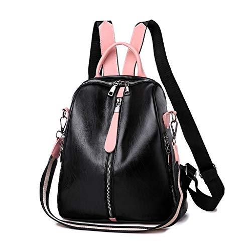 al Rucksack Große Kapazität Computer Tasche Einfarbig Umhängetasche Dual Use Rucksack ()