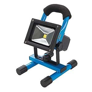 Silverline 258999 Lampe de chantier LED avec USB 10W