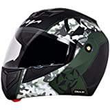 Vega Crux DX Camo Dull Black Battle Green Large