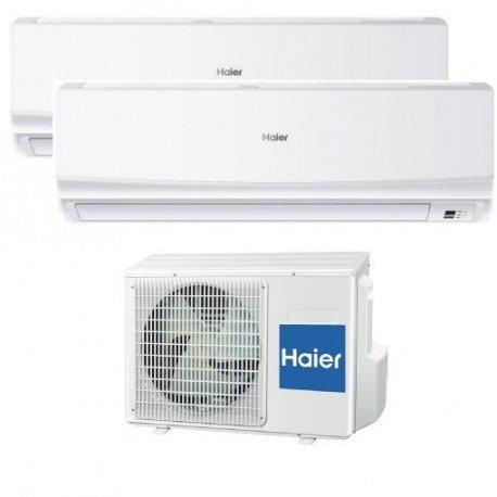 Aire Acondicionado Haier GEOS PLUS AS12 +AS09 + 2U18 MultiSplit 2x1