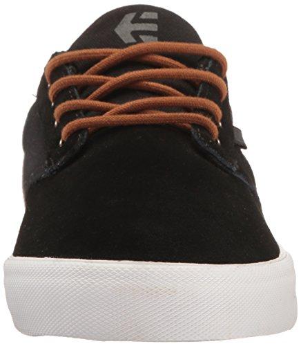 Etnies Jameson Vulc, Chaussures de Skateboard Homme Noir (Black Brown Grey)