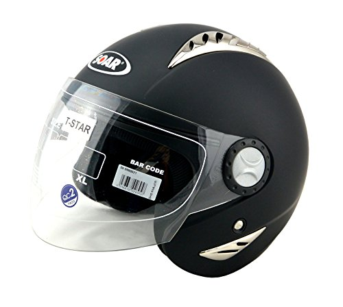 ked-soar-motorradhelm-t-star-h720-black-grosse-xs-halbhelm-ideal-fur-brillentrager