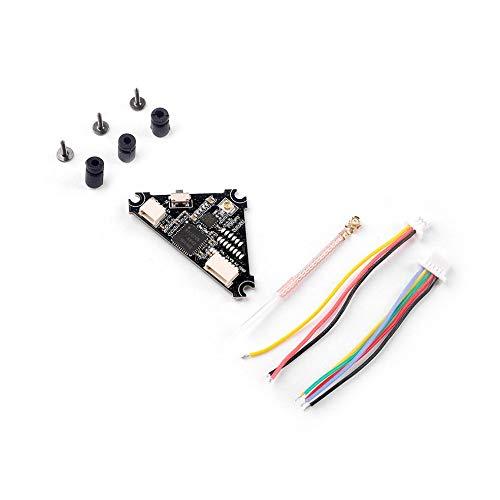 CHOULI FPV Audio Video Transmitter 5.8G 40CH 25mW ~ 200mW umschaltbares VTX für RC Drone Schwarz