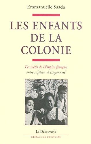 Les enfants de la colonie