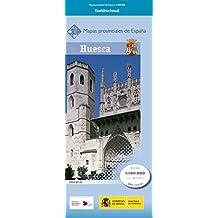Mapa de la Provincia de Huesca a Escala 1:200.000