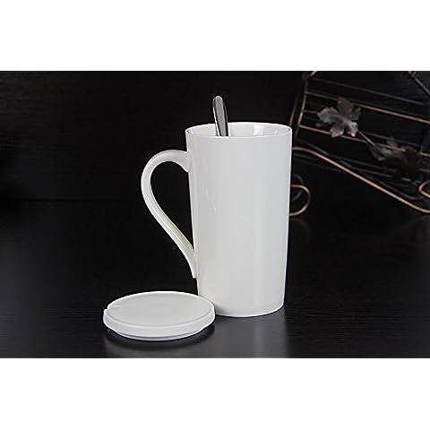 Creative minimalista la vaschetta del separatore della condensa tazze colazione annuncio tazza di super-di grande capacità tazza ceramica