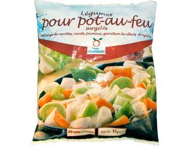 TOUPARGEL - Légumes pour pot-au-feu - 1 kg - Surgelé