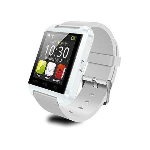 Vktech U8 Bluetooth SmartWatch Handy-Uhr für Android Smartphone z.B. iPhone 4, 4S, 5, 5S, Samsung S2, S3, S4, Note 2, Note 3, Note 4, HTC, Blackberry