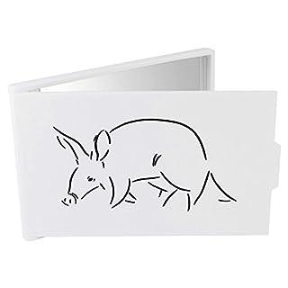 Azeeda 'Walking Aardvark' Compact / Travel / Pocket Makeup Mirror (CM00012475)