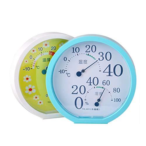 Garciasia TH401 Termómetro portátil Interior para Exteriores Higrómetro Mini Puntero Temperatura...