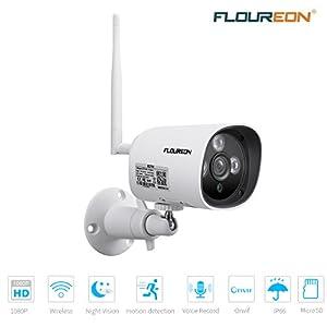 FLOUREON-1080P-Dome-IP-Kamera-WLAN-berwachungskamera-PTZ-Netzwerkkamera-ONVIF-IP-Cam-4X-Zoom-P2P-Nachtsicht-Bewegungsalarm