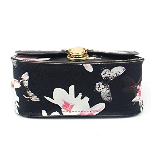 Transer PU Leather Handbags & Single Shoulder Bags Women Zipper Bag Girls Hand Bag, Borsa a spalla donna Black 17cm(L)*14(H)*7cm(W) Black