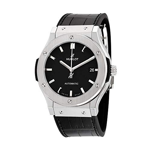 Hublot Classic Fusion Black Dial Black Leather Watch 511NX1171LR