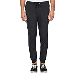 Aeropostale Mens Slim Fit Sweatpants (AE1001432001_Black_L)