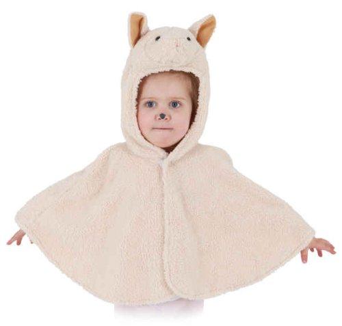 Orlob Schaf Kinder Kostüm als Lamm verkleiden zu Karneval Fasching Gr.104 (Schaf Kostüm Kinder)