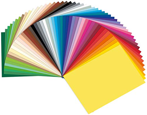 /Motivo Cartone Basics Rosa Assortiti 50/x 70/cm Folia 46309/ 10/Fogli