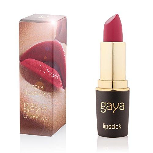 Gaya Cosmetics Mineral Lippenstift - Feuchtigkeitsspendende Formel für Atemberaubend Gesunde, Weiche und Volle Lippen (501 Shade) -