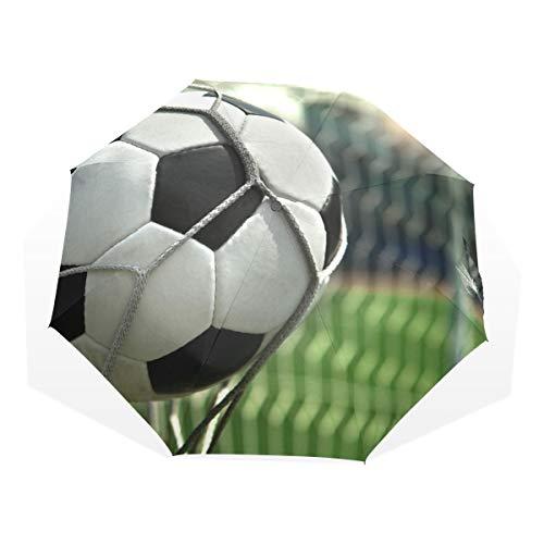 XiangHeFu Regenschirm-Fußball, der Fußball-Ziel 3 schießt, faltet leichtes Anti-UV -