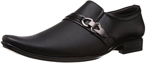 Albert & James Men's Black Formal Shoes - 8 UK (AJ12)
