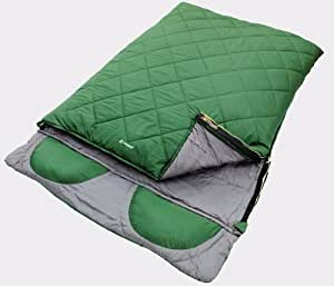 OUTWELL CONTOUR 2-3 SEASON DOUBLE SLEEPING BAG CAMP/CAMPING 2 PERSON NEW