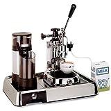 La Pavoni Espressomaschine Europiccola Lusso chrom/sz EL