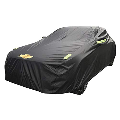 FDHLTR Spezielle Autoschutzhülle aus dickem Oxford-Stoff Sun Rain Cover für Camaro-Modelle Autoabdeckung (Size : Oxford Cloth - Built-in lint)