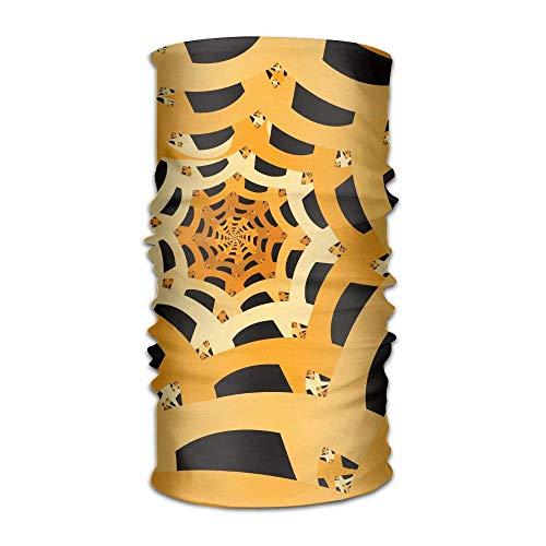 Halloween Spider Cobweb Headwrap Men Women Headwear Headband Neck Scarf Quick Dry Hairband Magic Head Scarf Bandana Novelty Headdress Face Mask Neck Gaiter
