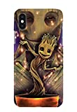 Case Me Up Coque téléphone pour iPhone XS Max Groot Guardians of The Galaxy...