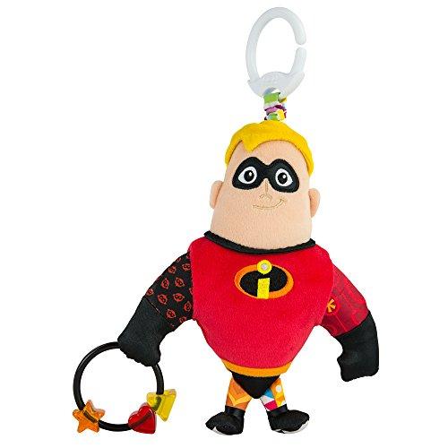 Lamaze l27252la increíble de clip & Go Mr Incredible de alta calidad Niño Juguete de bebé de juguete regalo a partir de 0años Baby greifling