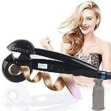 Boucleur Curl Secret Ionique Boucler Céramique Professional Automatique Cheveux Curling Styling Outil LCD Affichage (Noir)