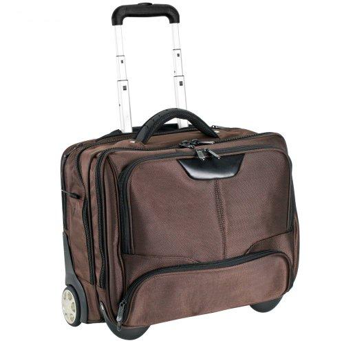 Dermata Business Valise 43 cm compartiment ordinateur portable braun