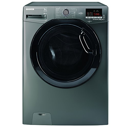 Hoover DXOC69AFN3R Washing Machine Graphite 9kg Load Capacity Up to 1600rpm Spin Speed A+++ Energy Rating 16 Programmes A Washing and Spinning Performance