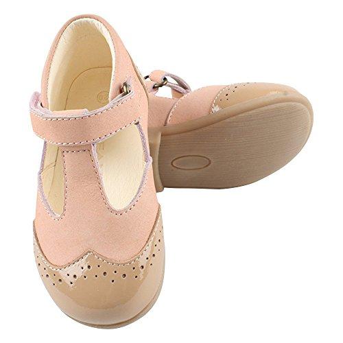 EN FANT Shoes, Ballerines fille Rose - Pink (Blush 55)