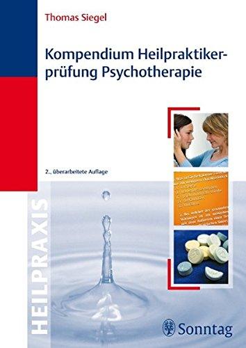 Kompendium Heilpraktikerprüfung Psychotherapie