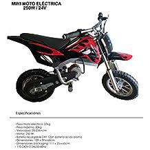 Mini pit bike eléctrica con motor de 250w / 24v - dirt bike - mini moto