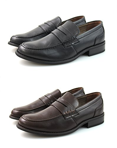 By Neki Mocassini Uomo Black, Brown, White, Navy Blue TAN BROWN