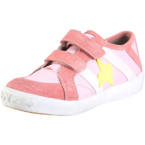 Wyzz Skater Velcro 2004873 Unisex - Kinder Halbschuhe Pink, (FUXIA)