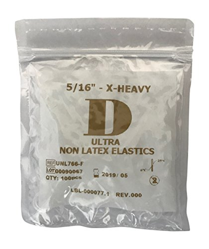 Latexfreie intraorale Elastiks, Gummibänder X-Heavy D 5/16