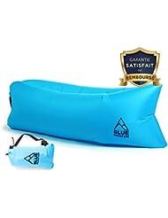 ⭐ [BlueMountain®] - Canapé Hamac gonflable Premium Haute Qualité / AirSofa / Lamzac