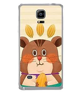 PrintVisa Designer Back Case Cover for Samsung Galaxy Note Edge :: Samsung Galaxy Note Edge N915Fy N915A N915T N915K/N915L/N915S N915G N915D (Eating cartoon)