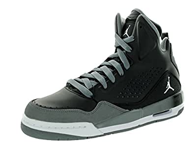 Nike SC-3 BG Black Grey Youths Trainers Size 38 EU