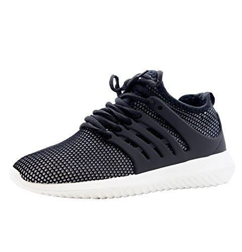 Saute Styles , Chaussures de sport femme White Black With White Sole