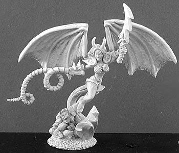 Reaper Miniatures 2923 - Leyendas Oscuras: Kasadya, Princess of Hell (sin Pintar) Importado de Alemania