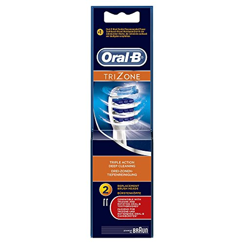 oral-b trizone electric toothbrush replacement heads powered by braun - 41XDajVFphL - Oral-B TriZone Electric Toothbrush Replacement Heads Powered by Braun