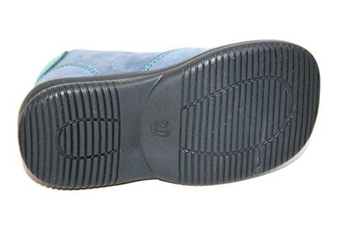 Jela , Chaussures de ville à lacets pour garçon bleu bleu Blau (blau/hellblau)