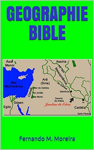 Couverture du livre GEOGRAPHIE BIBLE